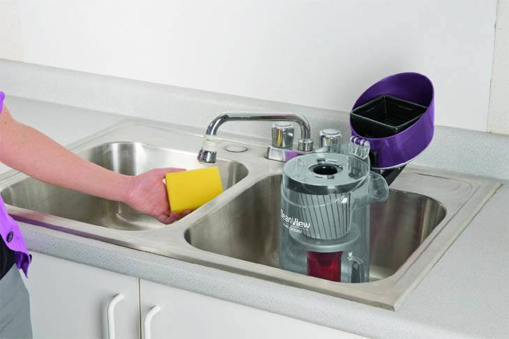 Bissell_CleanView_9595a_Easy_Cleaning