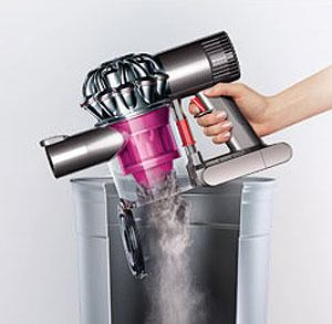 Emptying-Dustbin-On-Dyson-Motorhead