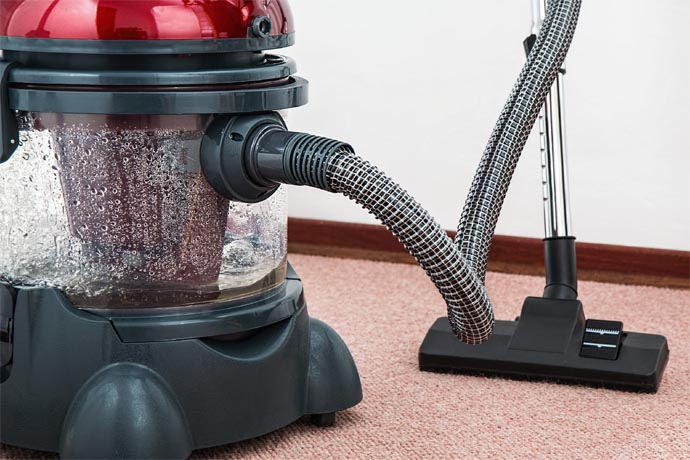 Clean Your Carpet With A Vacuum Cleaner