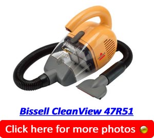 Bissell CleanView 47R51 Deluxe Handheld
