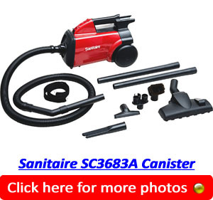 Sanitaire SC3683A Commercial Canister Vacuum
