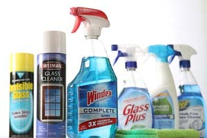 Glass Cleaners That May Contain Ammonia