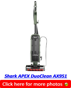 APEX DuoCLean Powered Lift Away AX951