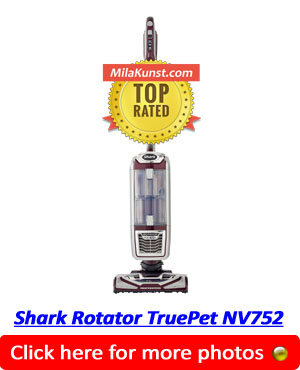 Shark TruePet NV752 Best Vacuum For Pet Hair