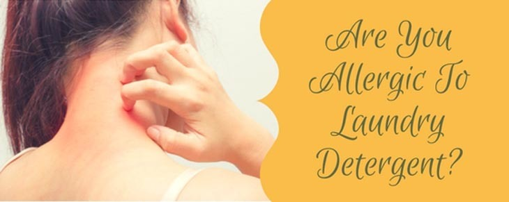 Are You Allergic To Laundry Detergent?