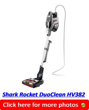 Shark Rocket DuoClean HV382 Pet Vacuum