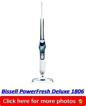 Bissell PowerFresh Deluxe 1806 Steam Mop