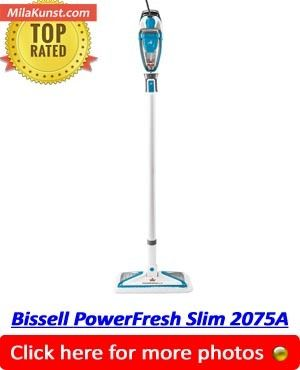 Bissell PowerFresh Slim 2075A - Best Steam Mop For Hardfloors 2018