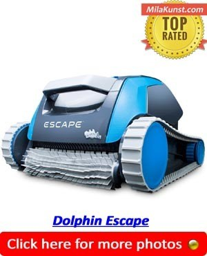 Dolphin Escape Best Above Ground Pool Vacuum